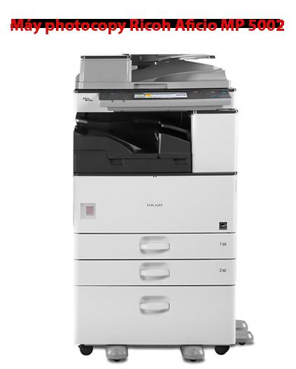 Máy photocopy cho văn phòng Ricoh Aficio MP 5002