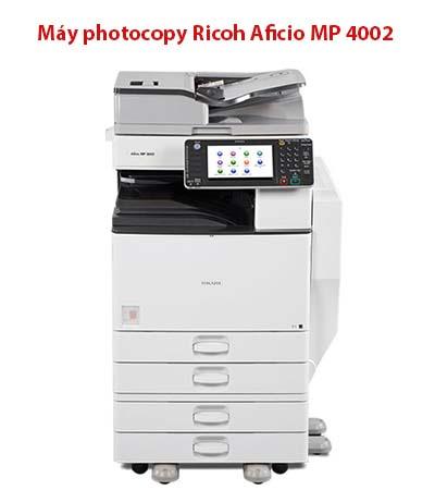 Máy photocopy Ricoh Aficio MP 4002 cho văn phòng
