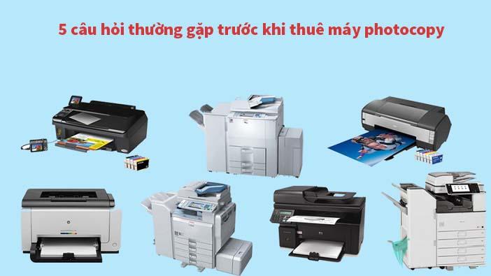 AT Việt Nam - Cho thuê máy photocopy giá tốt