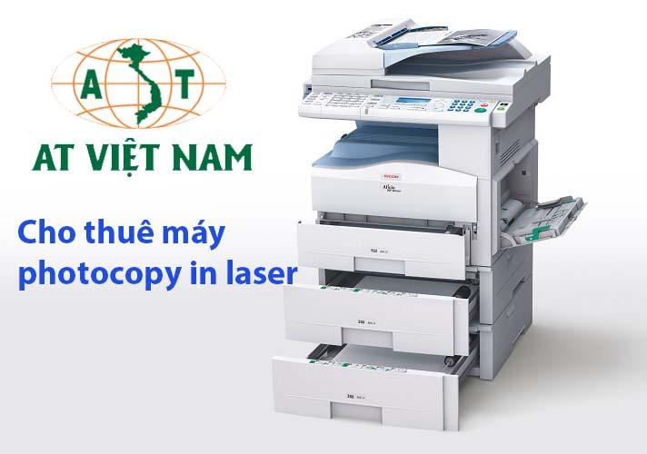 AT Việt Nam - Địa chỉ cho thuê máy photocopy in laser giá tốt