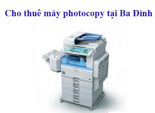 AT Việt Nam - Chuyên cho thuê máy photocopy tại quận Ba Đình