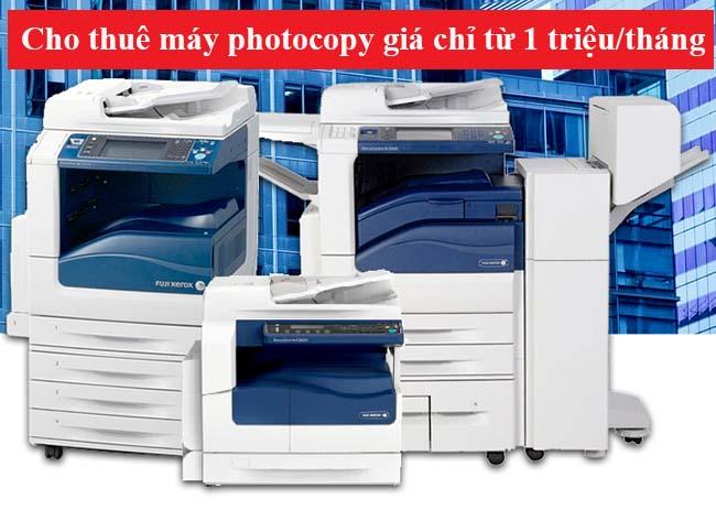 Chi phí thuê máy photocopy tại quận Ba Đình