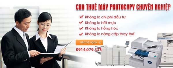 AT Việt Nam cho thuê máy photocopy tại quận Hoàn Kiếm