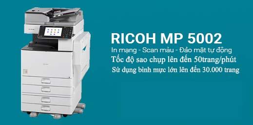 Có nên thuê máy photocopy Ricoh Aficio MP 5002 không?