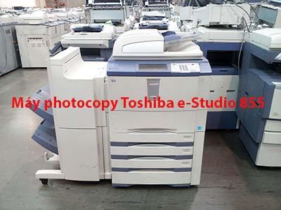 Hình ảnh thực tế máy photocopy Toshiba e-Studio 855
