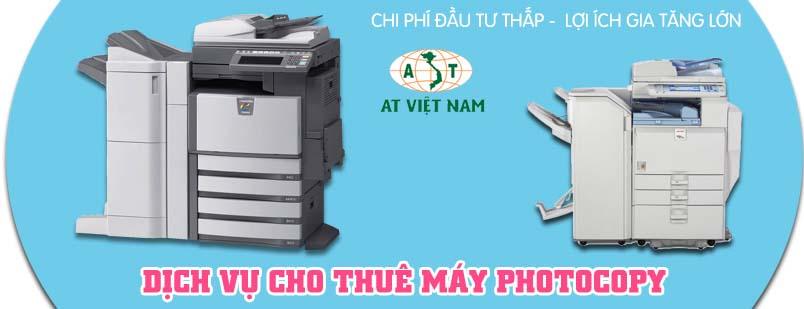 AT Việt Nam - Cho thuê máy photocopy giá tốt, chất lượng