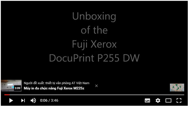 Máy in Fuji Xerox P255 DW Laser Printer