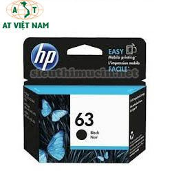 Mực in HP DeskJet 2130/3630/3830/4520/4650-HP 63 Black